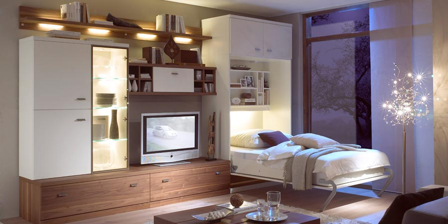 nehl wohnideen wohnideen mit schrankbetten. Black Bedroom Furniture Sets. Home Design Ideas